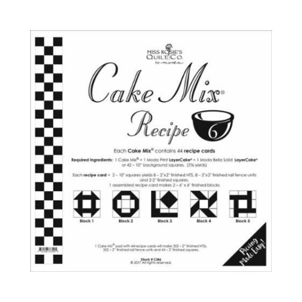 Cake Mix Recipe SIX