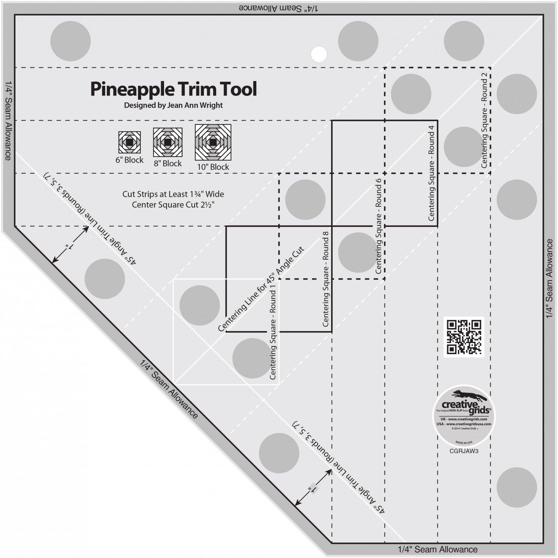 Creative Grids - Pineapple Trim Tool