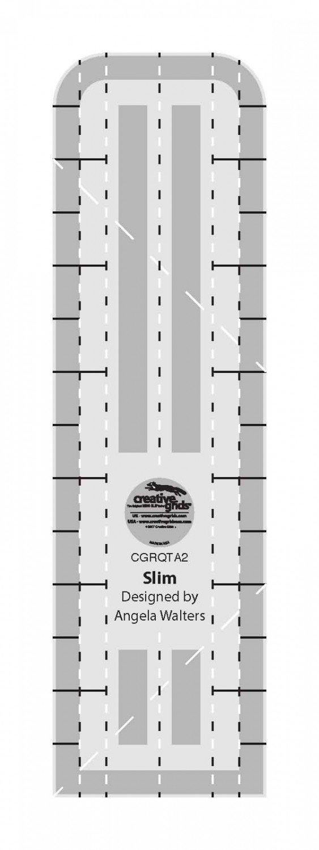 Slim - Creative Grids Quilting Ruler