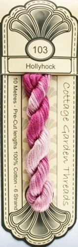 Cottage Garden Threads - 103 - Hollyhock