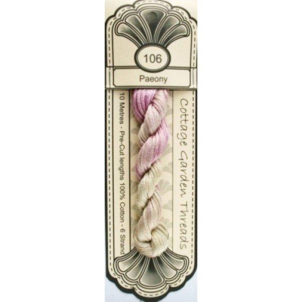 Cottage Garden Threads - 106 - Paeony