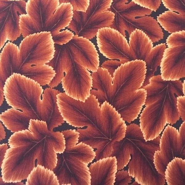 Changing Seasons - Leaf - Dark Brown
