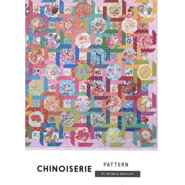 Chinoiserie Quilt Pattern