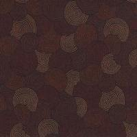 Circles - 108 inch wide - Brown