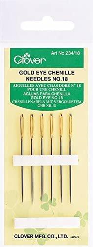 Clover Chenille Needles No. 18