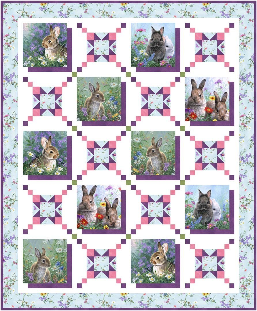 Cotton TalesQuilt Pattern - FREE DOWNLOAD