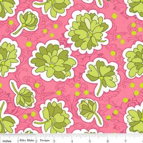 Bohemian Festival Pink + Green