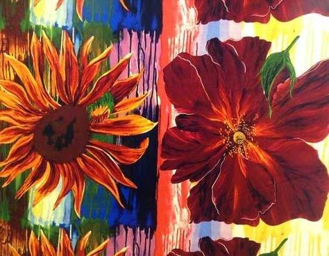 Daydreams IV - Rose/Sunflower