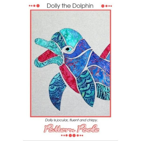 Dolly Dolphin Applique Pattern