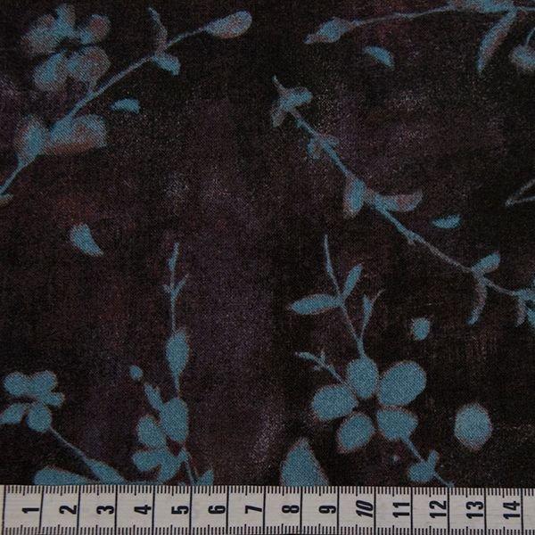 Earthtones - Blue Blossom Print