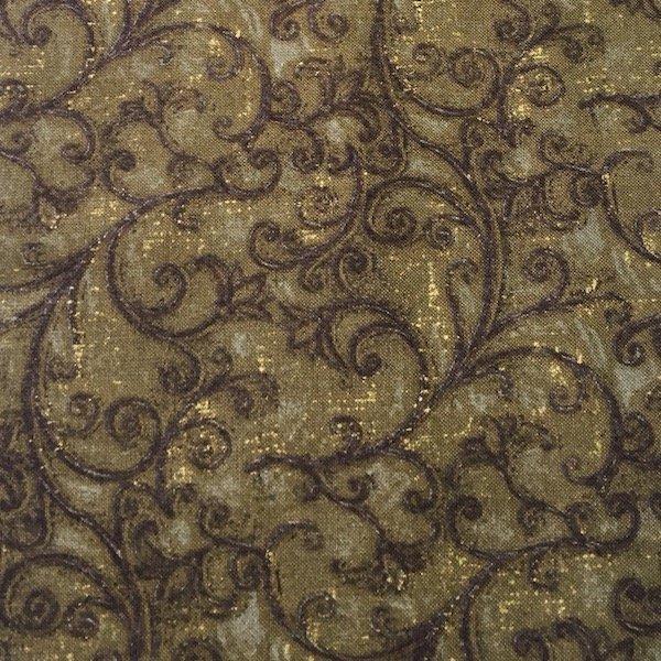 Earthtones - Vines - Gold
