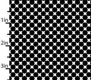 Essentials 9 - Black+ White Crosses