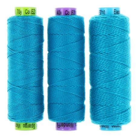 Eleganza Perle 5 Cotton - EZ10 - Paradise Blue