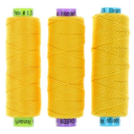 Eleganza Perle 5 Cotton - EZ18 - Lemon Curd