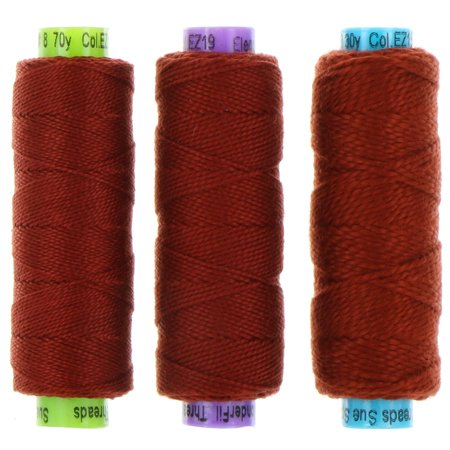 Eleganza Perle 5 Cotton - EZ19 - Raked Leaves