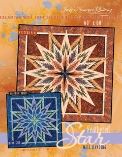 Feathered Star Wall Hanging Pattern