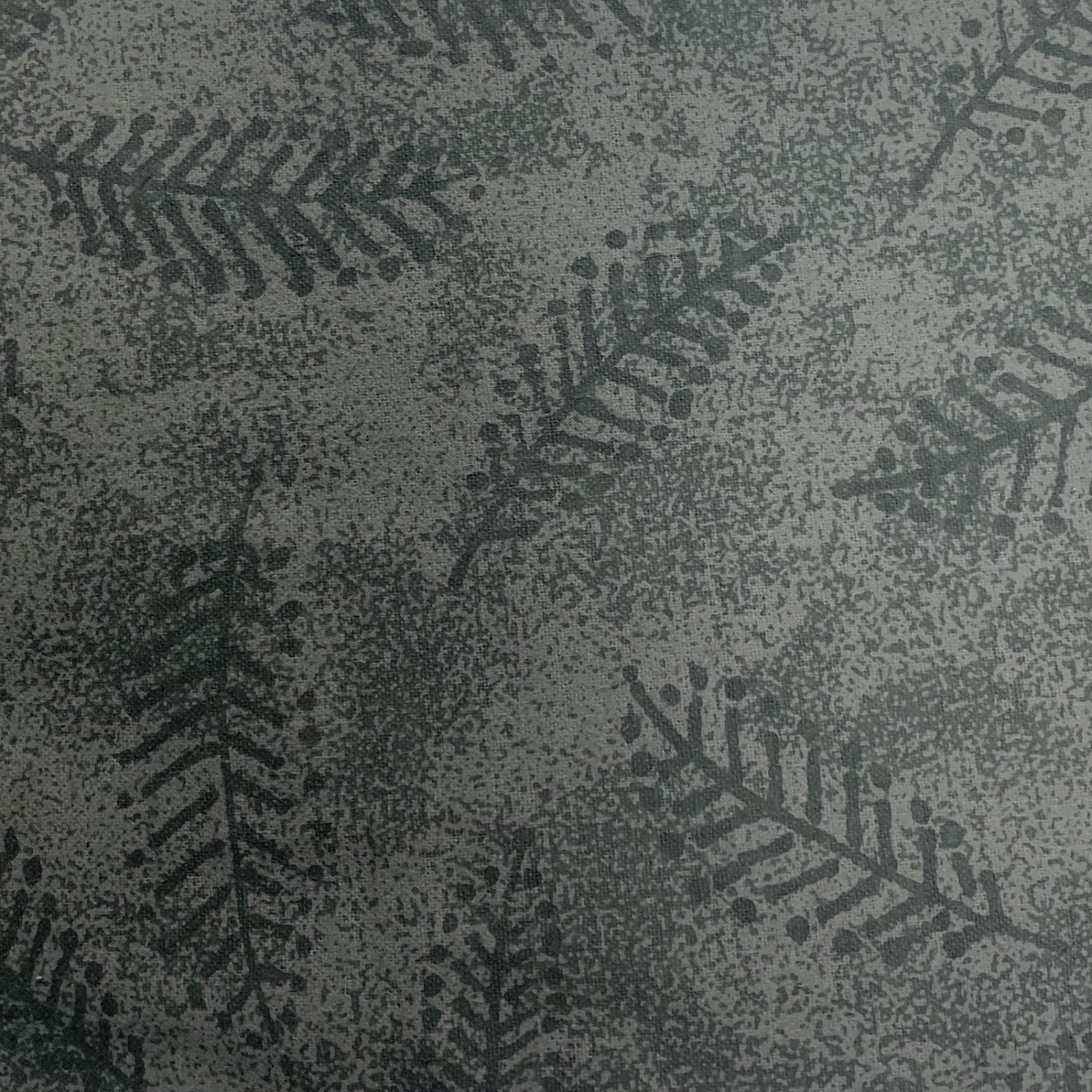 Flannel Pre-Cut - 3.2M - Fern - Grey 108