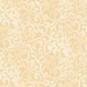 Filigree :Cream 108 inch wide
