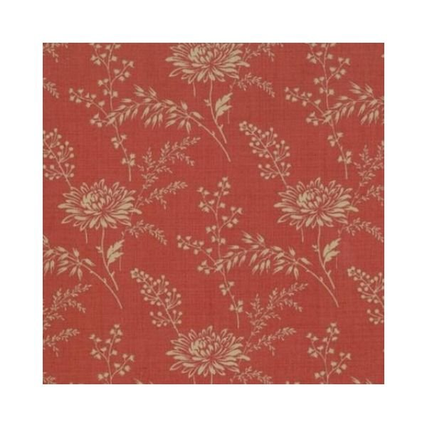 French General Favourite - Mid Floral - Red