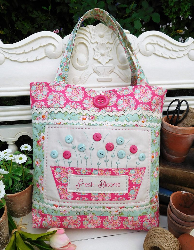 Fresh Blooms Bag Pattern