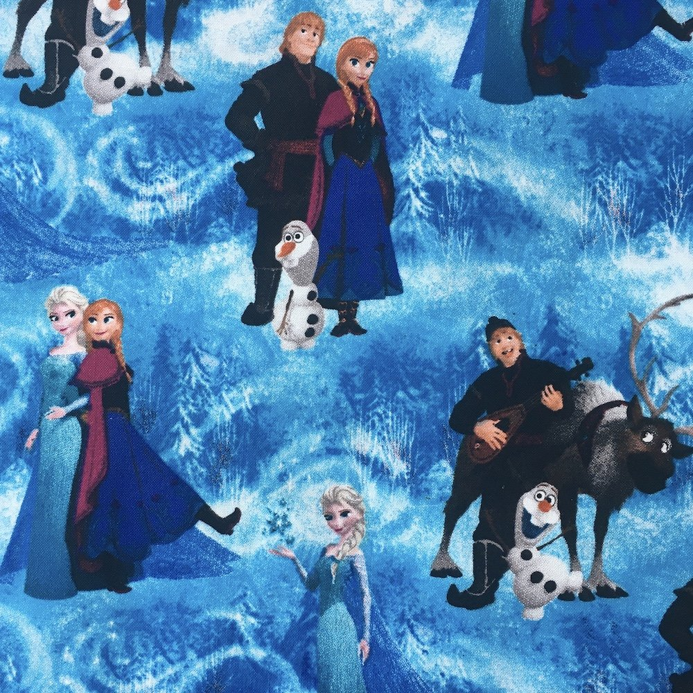 Frozen - Characters Scene
