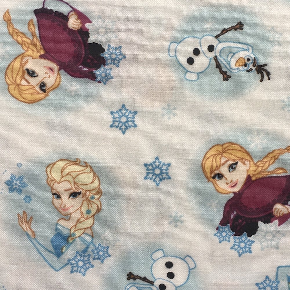 Frozen Alpine Wonder - Frozen Snowflakes