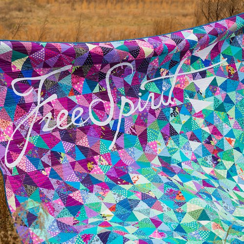 Blown Away Quilt Pattern - FREE Download