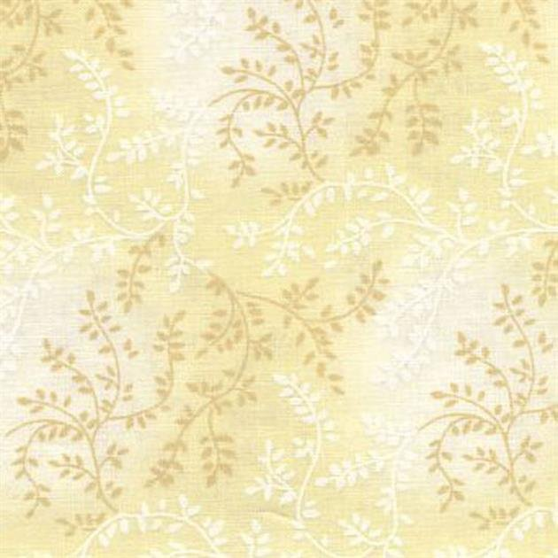 Triple Vine Quilt Backing - 108 - Cream