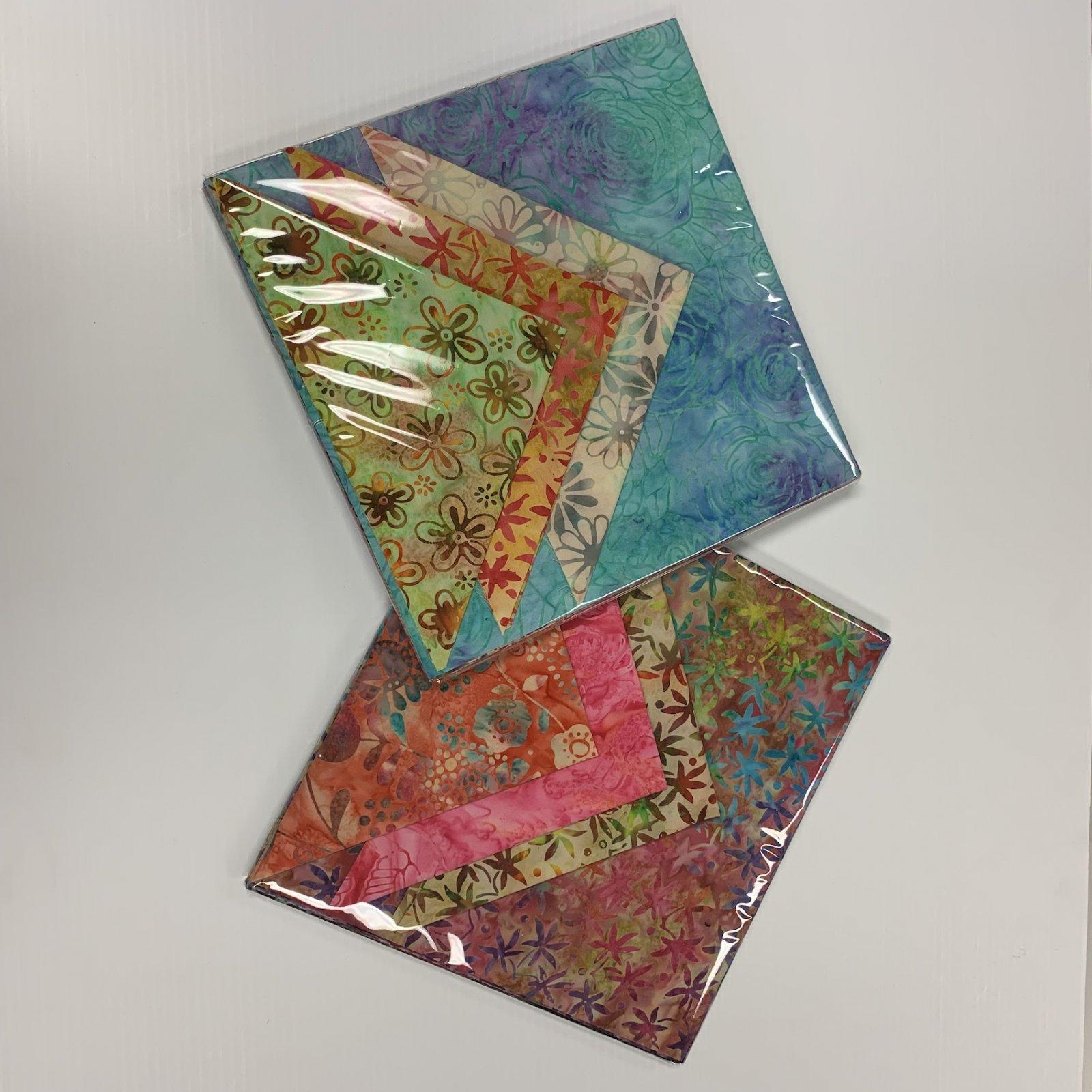 Layer Cake - Hand Cut 10 Squares Batik
