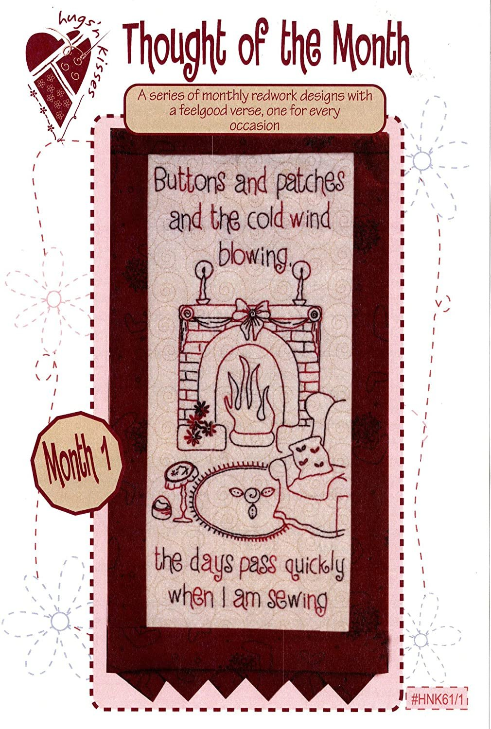 Thought of the Month - Block One Stitchery