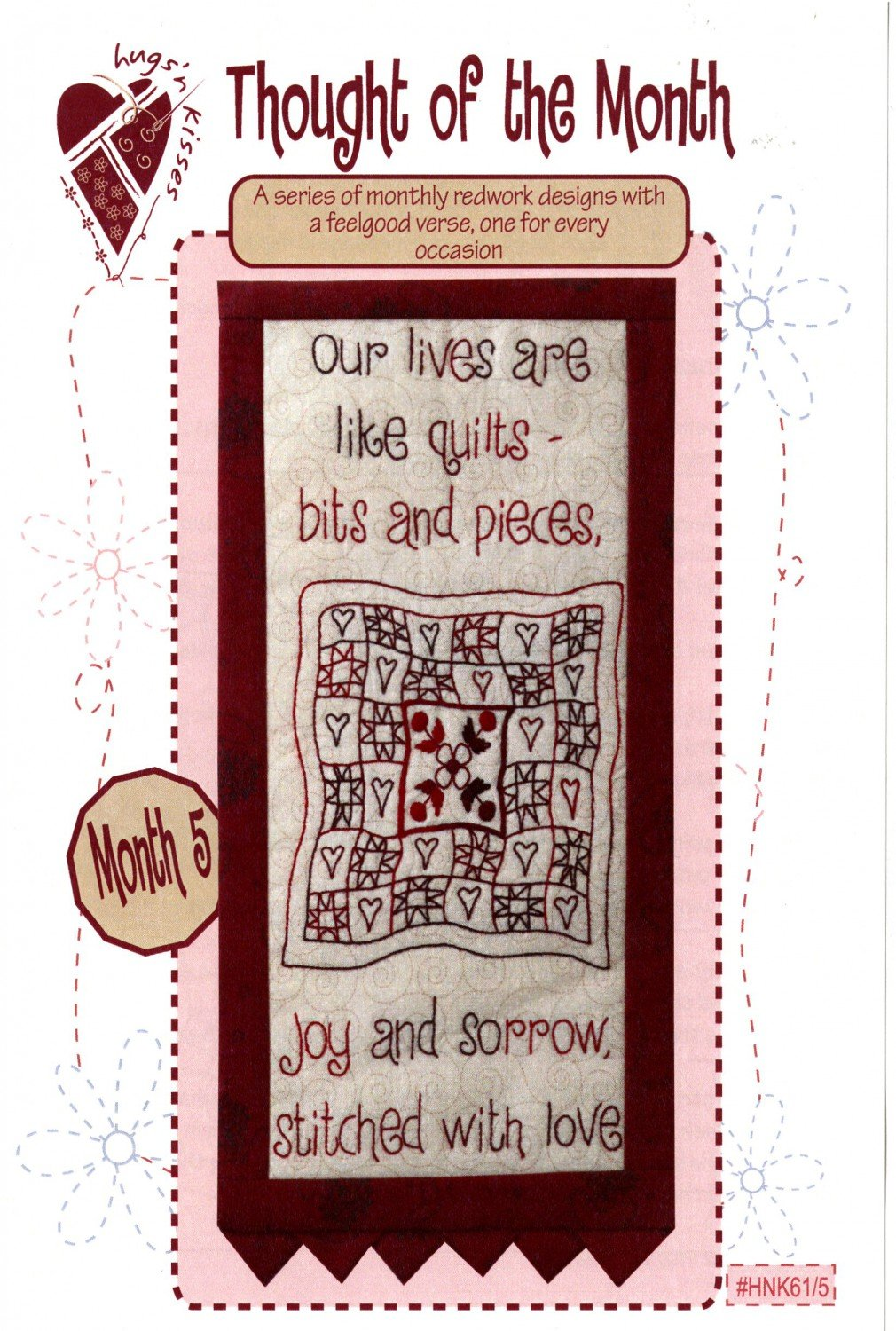 Thought of the Month - Block Five Stitchery
