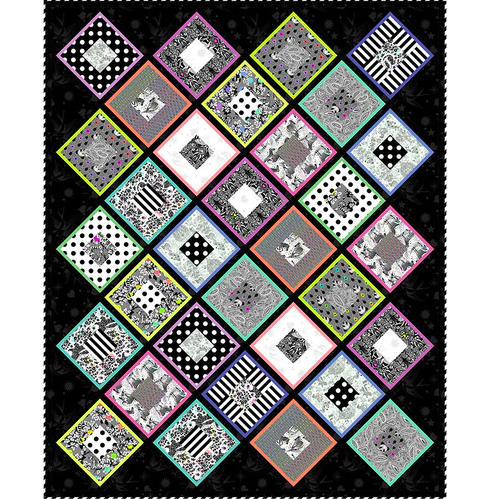 Hollow Diamonds Quilt - FREE Download