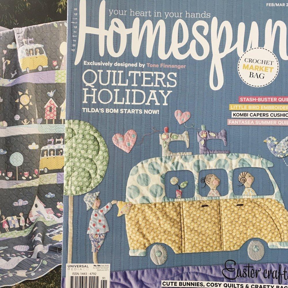 PRE-ORDER Homespun BOM Magazines 2020