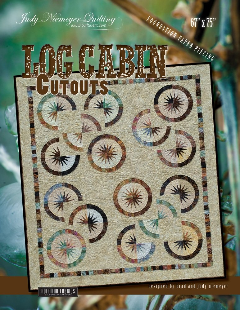 Log Cabin Cut Outs Pattern