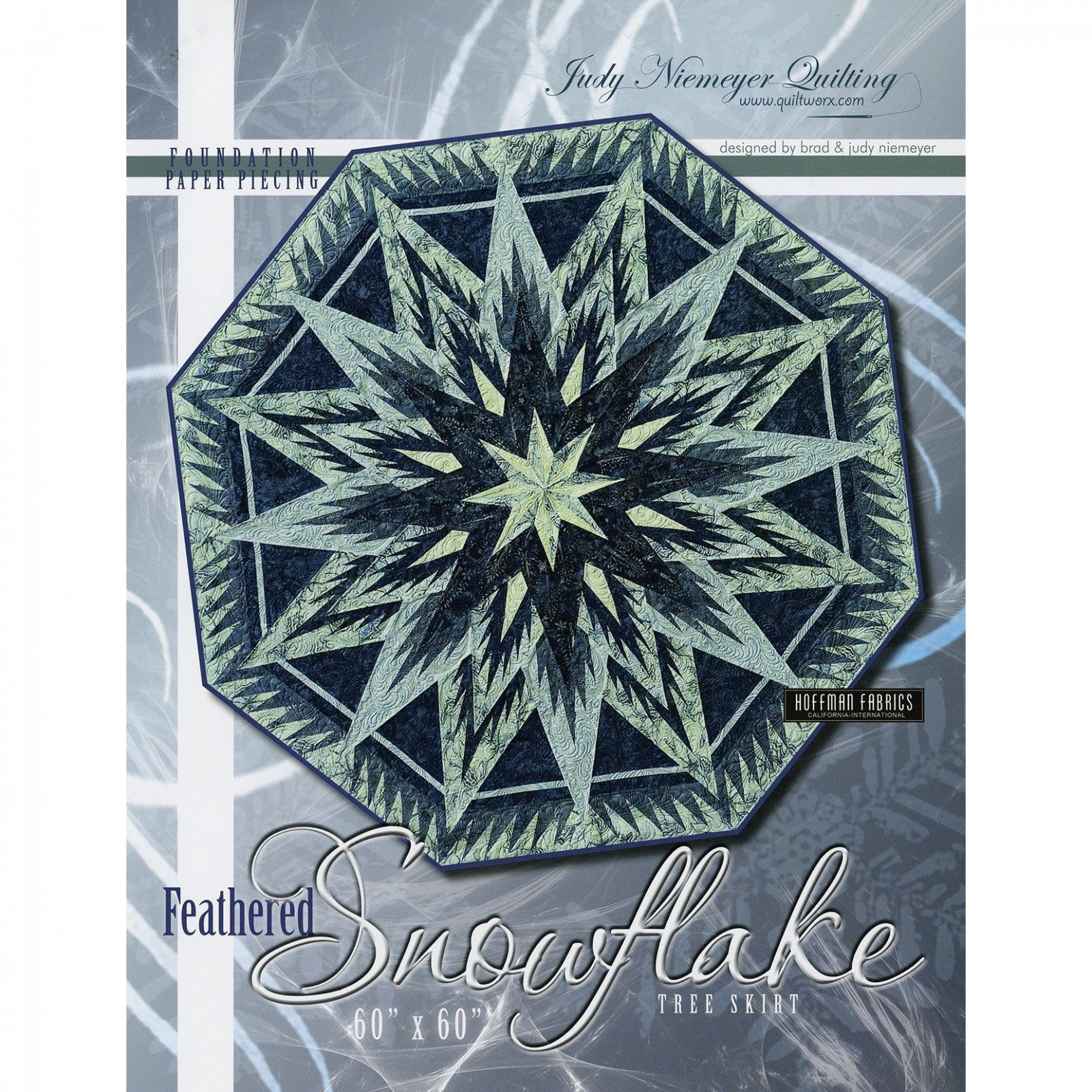 Feathered Snowflake Tree Skirt Pattern