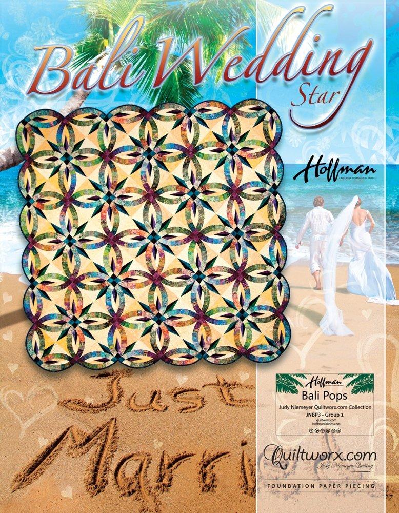 Bali Wedding Star Pattern