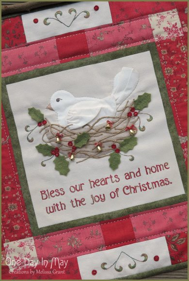 The Joy of Christmas Wall Hanging Pattern