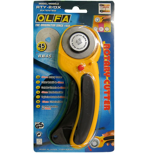 45mm Ergonomic Rotary Cutter