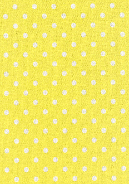 Large Spot Yellow/White