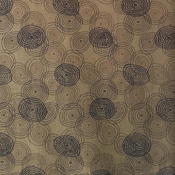 Kyoto - Circles - Brown
