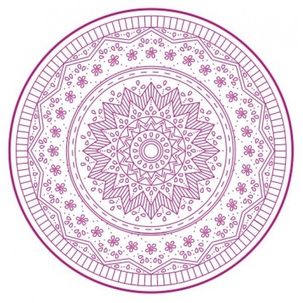Nikki Tervo - Mandala Large 6 Pattern