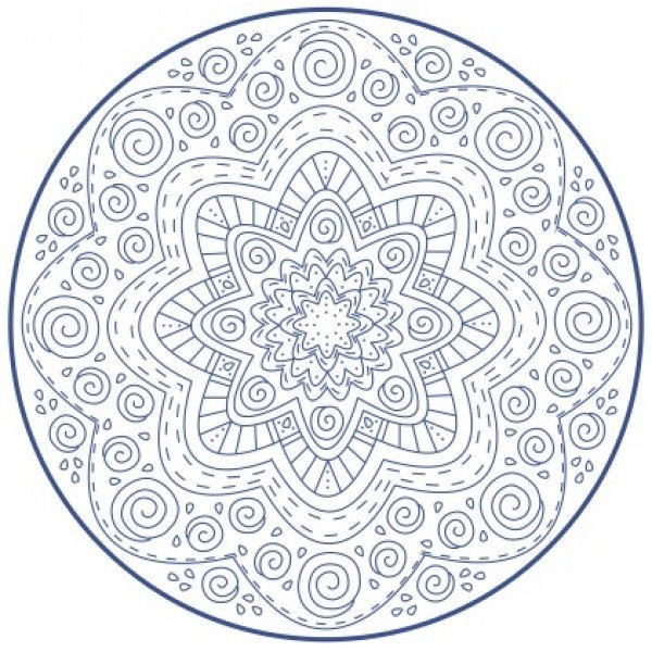 Nikki Tervo - Mandala Large 7 Pattern