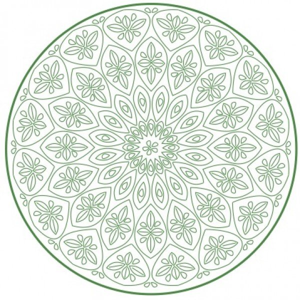 Nikki Tervo - Mandala Large 9 Pattern