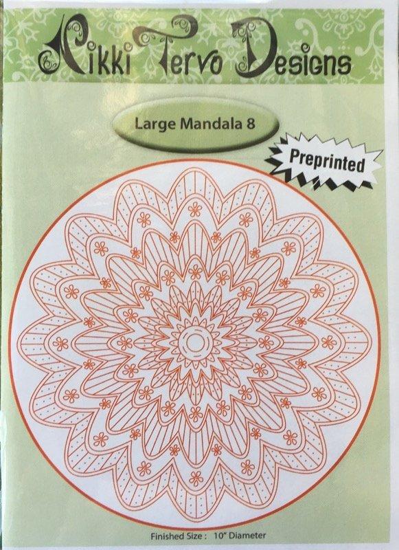 Nikki Tervo - Mandala Large 8 Pattern