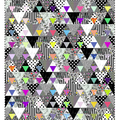Equilaterial Quilt - FREE Download