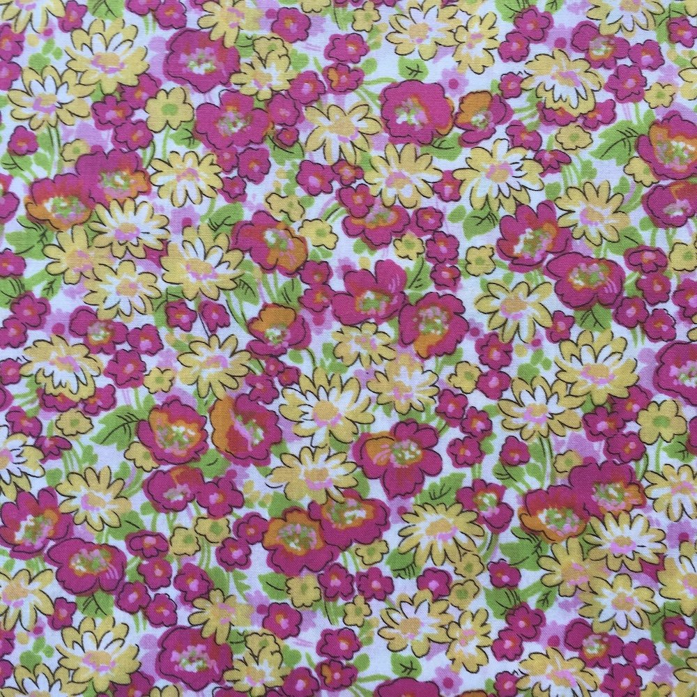 London Calling - Sorbet - Cotton Lawn