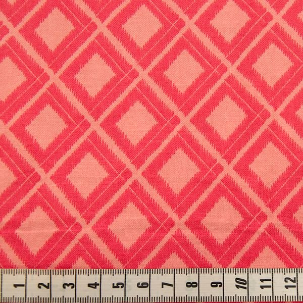 Simply Colour - Bright Pink Chequered Print