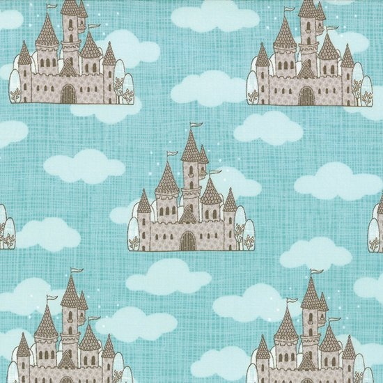 Story Book Plain - Castles In The Air - Turquoise