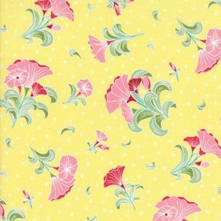 Pedal Pushers - Floral - Buttercup