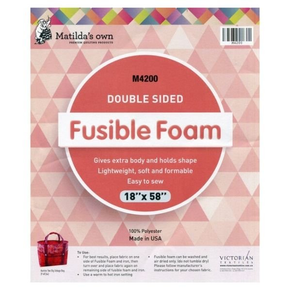 Foam Double Sided Fusible - 18 x 58 Pack